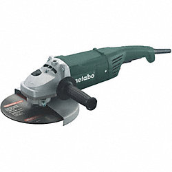 Right Angle Grinder, 15 A, 9 In