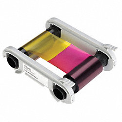Multi Color Ribbon, 200 Cards Per Roll