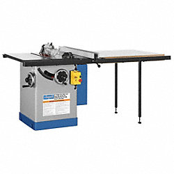 Cabinet Table Saw, 10 In. Blade