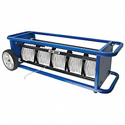 Wire Spool Cart w/Spring Loaded Access
