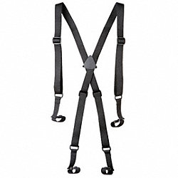 Suspenders, L/XL, Black