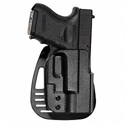Holster, RH, Glock 26, 27, 33, Black