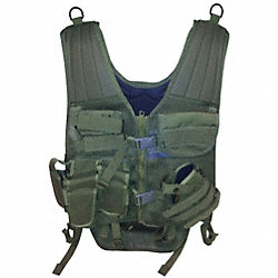 Cross Draw Entry Vest, Universal, OD Green