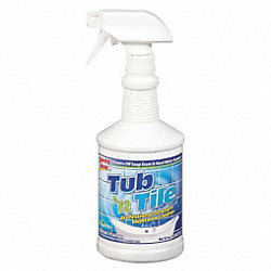 Tub and Tile Cleaner, 32 oz, PK 12