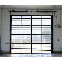 Dock Door, Aluminum.H 10 Ft x W 12 Ft
