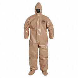 Tychem(R) CPF 3, Hood, Tan, Socks, 5XL, PK 6