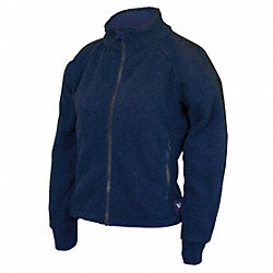 Womens FR Jacket, HRC2, Navy, XLT