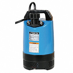 Submersible Dewatering Pump, 1 HP, 115V