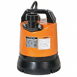 Submersible Low Level Pump, 2/3 HP, 110V