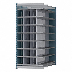 Deep Bin Unit, 36x72x87 Add-On, 28 Bins