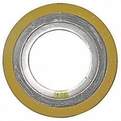 Spiral Wound Metal Gasket, 2-1/2In, 304SS