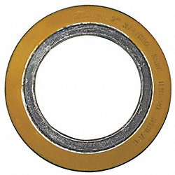 Spiral Wound Metal Gasket, 4 In, 316SS