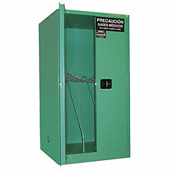 Gas Storage Cabinet, 6 - 9 H Cyl