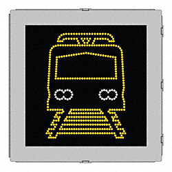 LED Sign, Transit Vehicle Approach, 24 x24