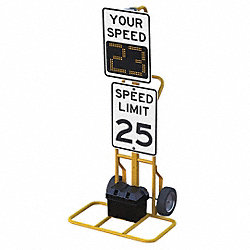 LED Indoor Radar Speed Sign, 59.2 x 22.5