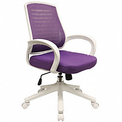 Office Chair, Purple