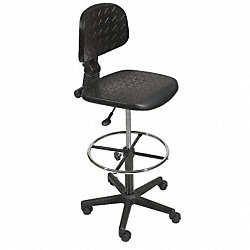 Drafting Chair, Black
