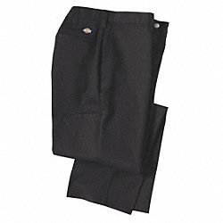 Industrial Work Pants, Twill, Black, 30x34