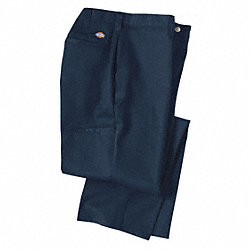 Industrial Work Pants, Twill, Navy, 30x30