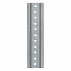 Post, U Channel, Silver, 6 ft.