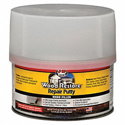 Repair Putty, Wood Restore, 12 oz., Tan
