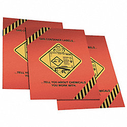 Safety Poster, 28 x 15In, Laminated Ppr