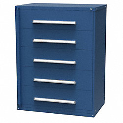 Weapon Storage Cabinet, 59x45, Blue