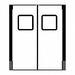 Door, Swinging, 3 ft x 8 ft, White