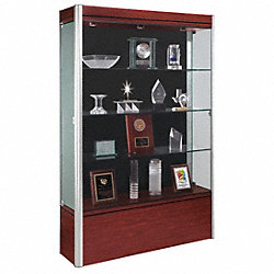 Display Case, 72x48x14, Cherry