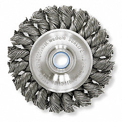 Knot Wheel Brush, 4 In