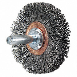 Wheel Brush, 2 In Dia