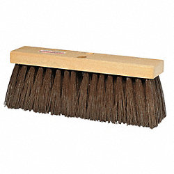Push Broom, Brown PP, Street Sweep