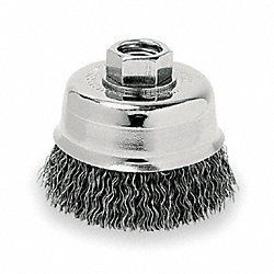 Crimped Wire Cup Brush