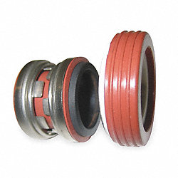 Shaft Seal, 5/8 In, Buna, Carbon, Ceramic
