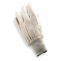 Canvas Gloves, Cotton, S, Natural, PR