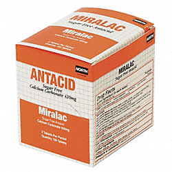 Antacid Tablets, Chewable, Pk 250