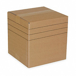 Multidepth Shipping Carton, 12 In. L