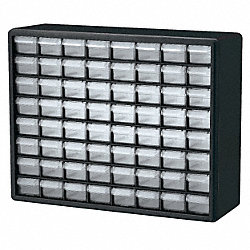 Cabinet, Parts Storage, 64 Compartments