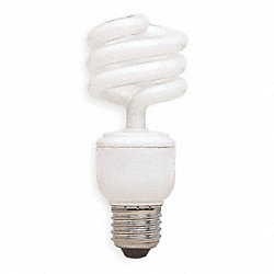 Screw-In CFL, 15W, T3, Medium