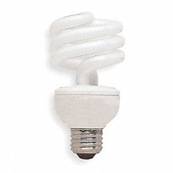 Screw-In CFL, 20W, T3, Medium