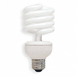 Screw-In CFL, 26W, T3, Medium