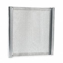 Screen, SS, 43 x 43 Mesh, 48 1/2x39 1/2 In