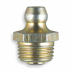 Grease Fitting, Str, 1/8-28, PK 10