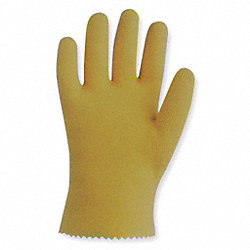 Coated Gloves, S, Yellow, PR