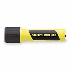 Hand Held Flashlight, Yellow, 7 LED