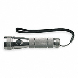 Hand Held Flashlight, LED, Titanium