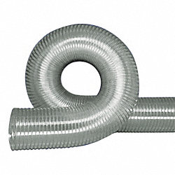 Ducting Hose, 2 In ID x 50 Ft
