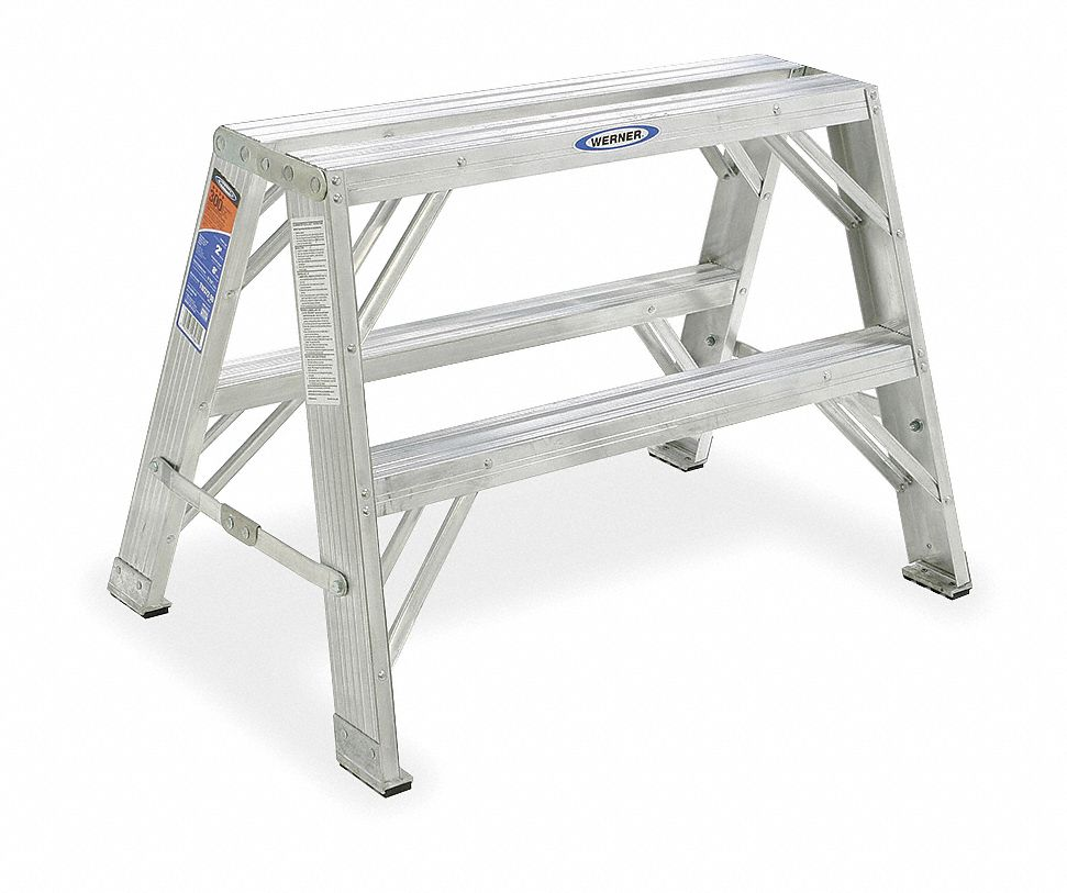 WERNER Work Stand, 24 In H, 300 lb., Aluminum by Werner TW372-30 at Sears.com