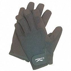Mechanics Gloves, Black, XL, PR