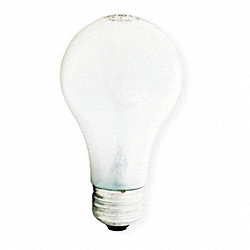 Incandescent Light Bulb, A19, 25W